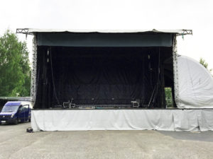 mobilestage rent, sound and lighting rent